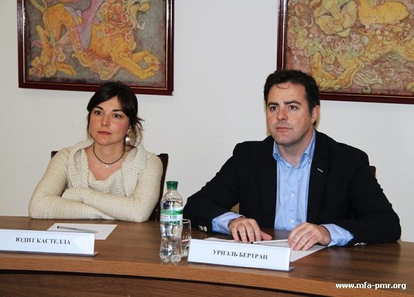 Meeting with Representatives of Catalonia