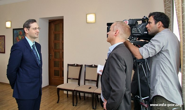 Interview by Vitaly Ignatiev to Swiss Television and Radio Broadcasting Company Rundschau