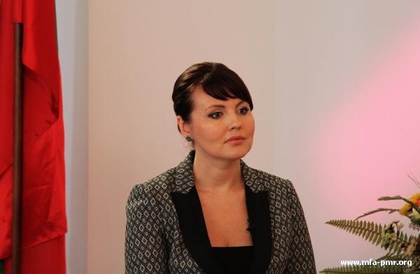 Nina Shtanski's Interview to the Euronews TV Channel