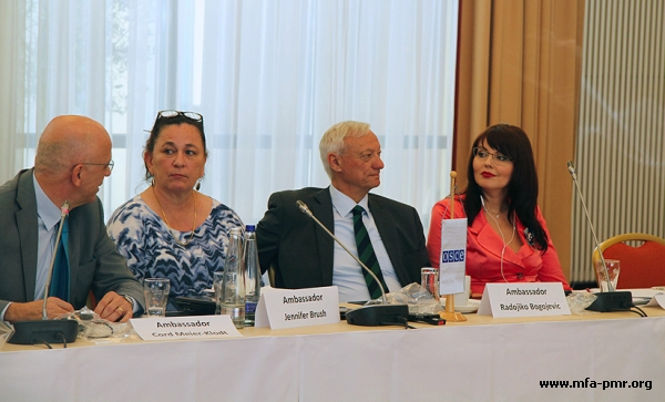"""Nina Shtanski, """"Experts on Education and Environment Demonstrated """"the Spirit of Cooperation"""""""""""