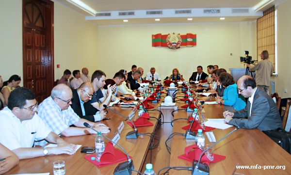 """Round Table in Tiraspol \""""Unrecognized: How to Implement the Right of People to Self-determination?\"""""""