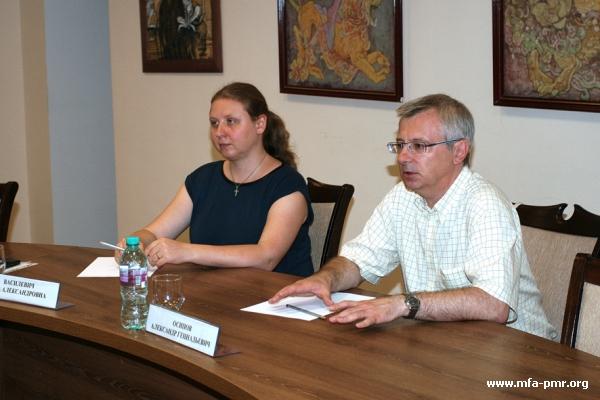 В МИД прошла встреча с делегацией ЕЦВМ