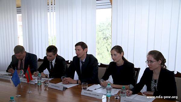 Игорь Шорников встретился с представителем Дирекции по вопросам политического консультирования Совета Европы Анной Капелло