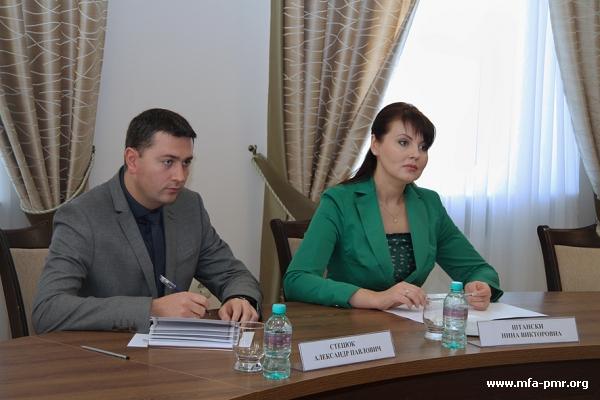 Nina Shtanski met with Farit Mukhametshin
