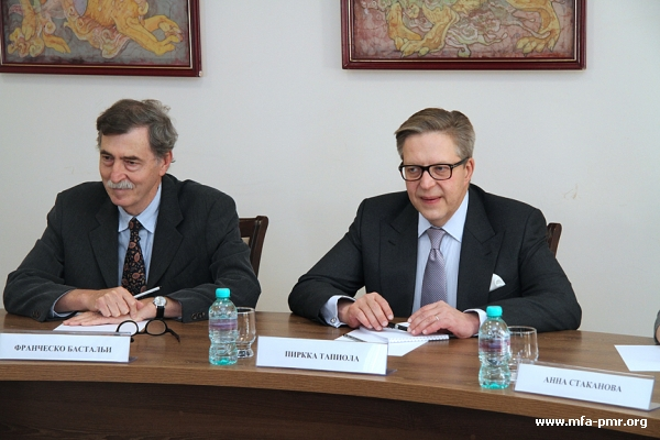 MFA hosted a meeting with the European delegation