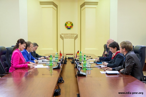 President of Pridnestrovie received the FRG delegation