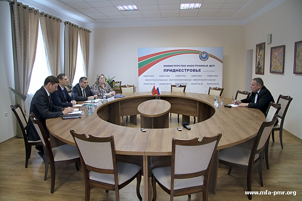 """The PMR's MFA was Visited by the Editor-In-Chief of """"Eurasian Law Journal"""""""