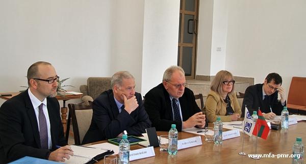 Nina Shtanski met Deputy Head of the OSCE Secretariat Adam Kobieracki