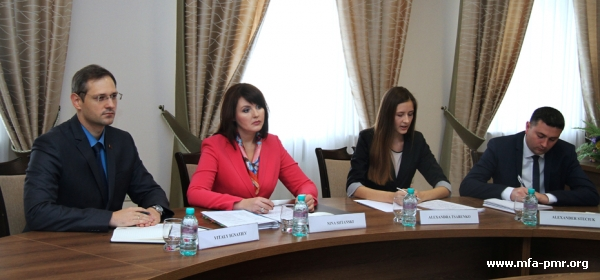 On the meeting between Nina Shtanski and Special Representative of the OSCE Chairperson-in-Office Radojko Bogojevich