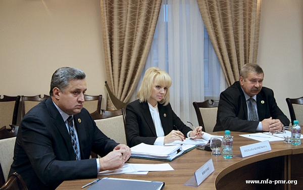 Meeting with the EUBAM Delegation in the Foreign Ministry
