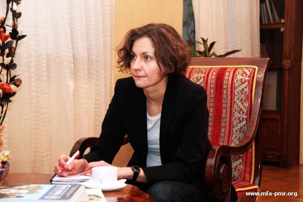 "Interview by Nina Shtanski for German ""Die Welt"""