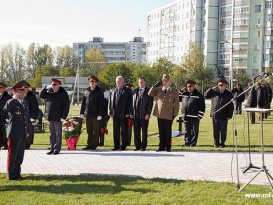 Solemn Opening Ceremony of the Memorial Signs  in Commemoration of the Hungarian War Prisoners and Civilians who Became Victims of the World War II