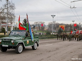 Commemorative Events Dedicated to the 67th Anniversary of Tiraspol's Liberation from German-Romanian Invaders Take Place in the PMR's Capital