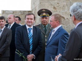"Bendery Fortress Hosts Unveiling of Bust to Field-Marshal-General Pyotr Khristianovich Wittgenstein and Presentation of Cognac ""Duke Wittgenstein"""