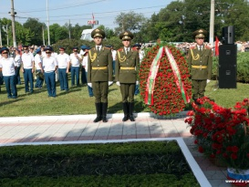 Ceremonial Inauguration of the Monument to the Legendary Russian General Alexander Lebed