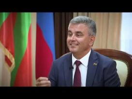Интервью Президента ПМР Вадима Красносельского телеканалу «Россия 24»