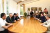 The Head of Pridnestrovien MFA met the delegation from Ministry of Internal Affairs of Abkhazia