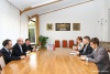 On the Meeting with Political-Economic Section Chief of United States Embassy in Moldova