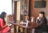 Нина Штански дала интервью белорусскому телеканалу «Столичное телевидение»