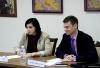 Нина Штански встретилась с главой Посольства Великобритании в Молдове Филиппом Дэвидом Батсоном