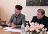 Нина Штански принимает государственный экзамен у выпускников-политологов