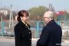 Нина Штански и Фарит Мухаметшин посетили таможенно-пропускной пункт «Первомайск»