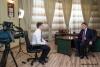 Президент Приднестровья Евгений Шевчук дал интервью телеканалу «Россия-1»