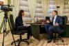 Глава государства Евгений Шевчук дал интервью телеканалу «100 ТВ» (Санкт-Петербург)