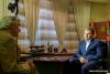 Евгений Шевчук дал интервью съемочной группе телеканала «Al Jazeera English»