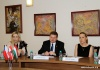 Meeting with the Delegation of the International Visegrad Fund