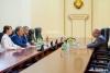 Президент ПМР принял Председателя комитета Государственной Думы РФ по вопросам собственности, координатора парламентской группы по взаимодействию с Верховным Советом ПМР