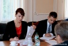 Nina Shtanski and Evgeny Karpov discussed foreign economic activity problems and prolongation of the Resolution on the resumption of the railway communication through Pridnestrovie